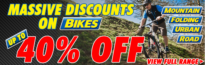 Huge Savings On Bikes!