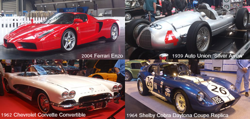 Car Collection At 2012 Classic Motor Show
