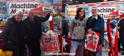 2012 Motor Show Comp Winners