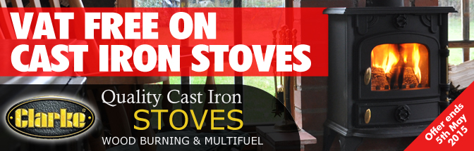 VAT Free On Stoves!