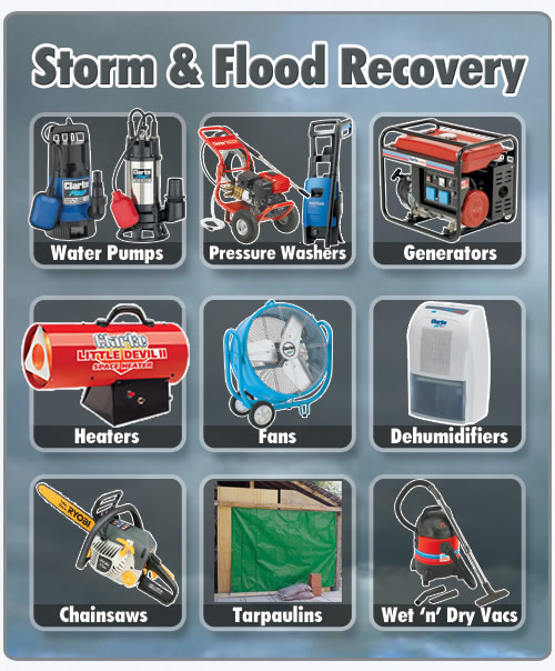 Storm Recovery Equipment