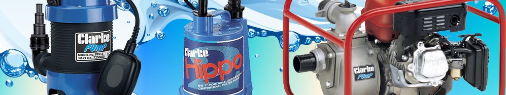 Water Pumps - Submersible, Petrol Powered, Electric, Dirty and Clean Water Pumps