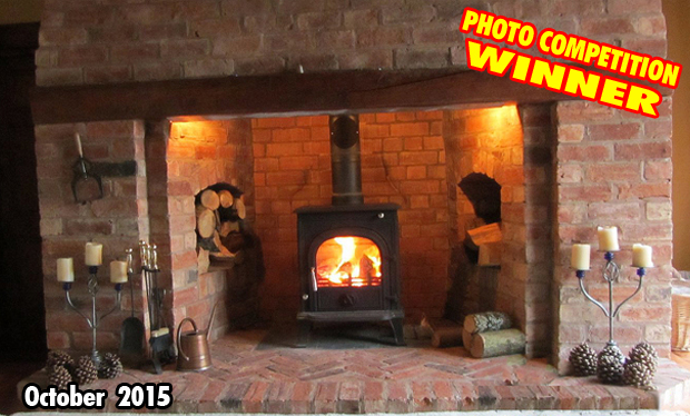 Wood Burning Stove Photo Competition 2015
