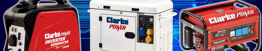 Generators: Diesel and Petrol, Honda & Clarke - Machine Mart