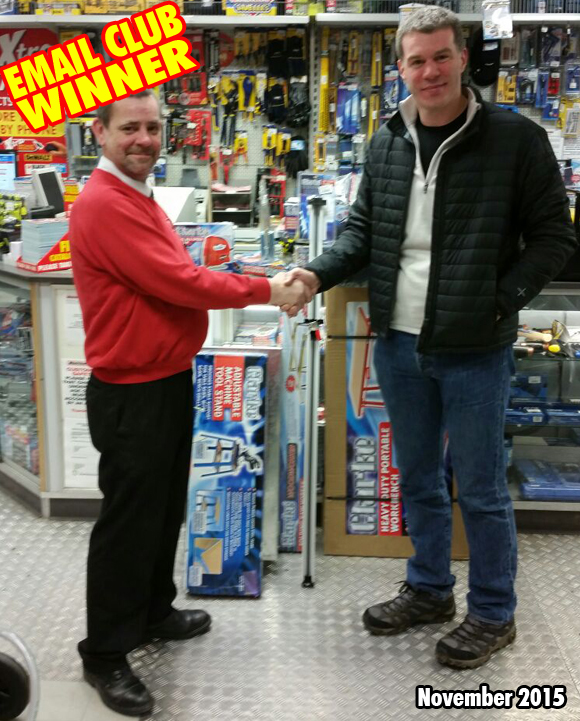 Machine Mart Ilford Store Competiotion Winner